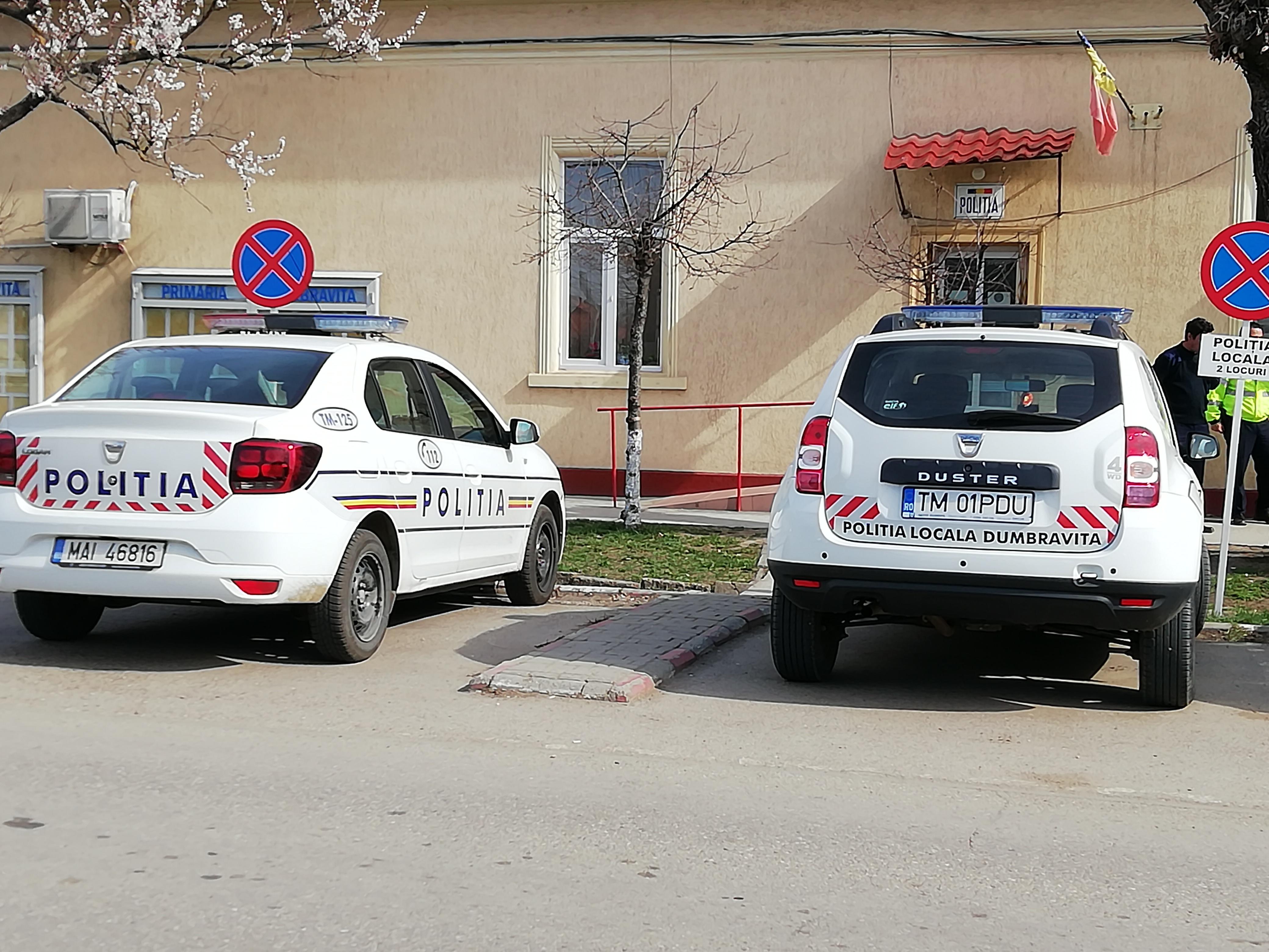 Anunț concurs pentru angajare politist local