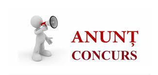 Anunț concurs – consilier achiziții publice